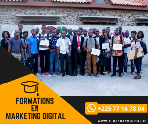 formation en marketing digital - abidjan - thursday digital