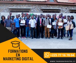 formation en marketing digital - abidjan - thursday digital